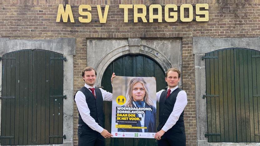 M.S.V. Tragos neemt deel aan de campagne 'Daar doen we het voor'