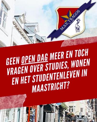 Vragen over studies, wonen en het studentenleven in Maastricht?
