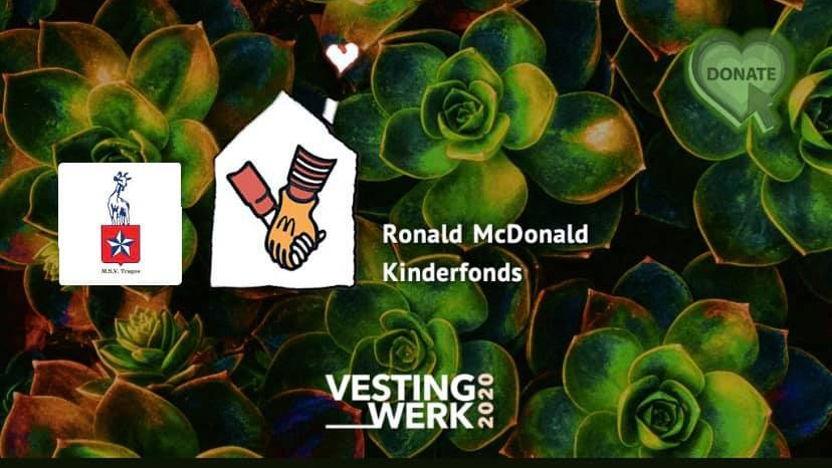 Vestingwerk rooftop sessions voor Ronald McDonald Huis Maastricht